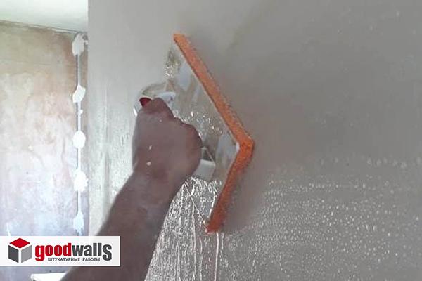 затирка бетонных поверхностей стен что это